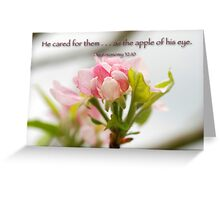 The apple of his eye . . . Greeting Card