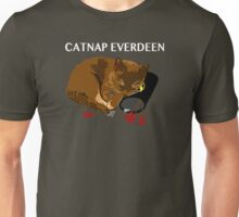 Catnap Everdeen (white text) Unisex T-Shirt