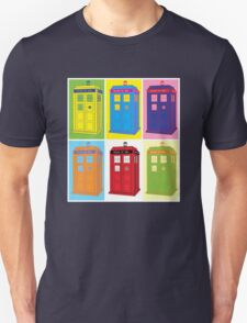 Warhol Tardis T-Shirt