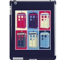 Tardis Warhol iPad Case/Skin