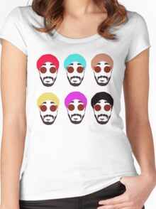 Jus Reign POP Women's Fitted Scoop T-Shirt