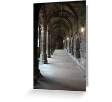 Chester Cloisters Greeting Card