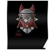 Taekwon V Helmet Poster