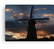 Lilly Sunset Canvas Print
