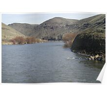The Yakima River Poster
