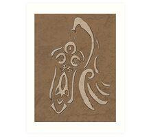 Honedge Rune Art Print