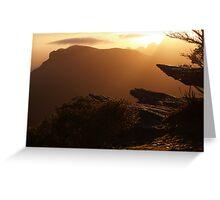 Bluff Knoll Sunrise Greeting Card