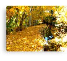 Nature's Golden Mattress Canvas Print