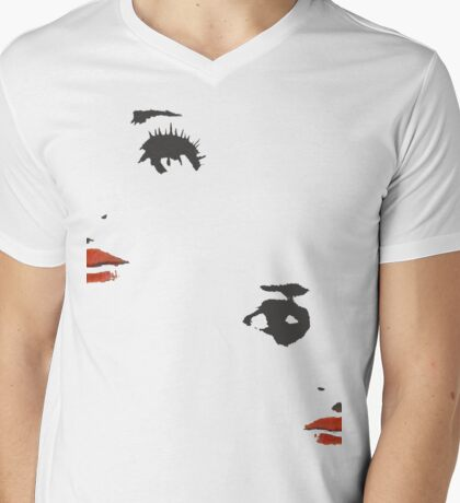 dolls faces Mens V-Neck T-Shirt