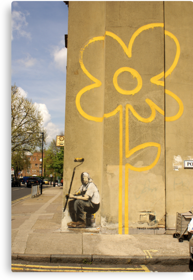 Banksy - Self Portrait? by Kiwikiwi