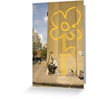Banksy - Self Portrait? Greeting Card