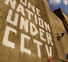 Banksy - One Nation Under CCTV by Kiwikiwi