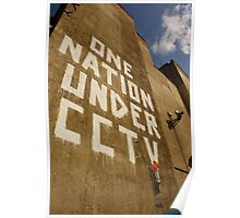 Banksy - One Nation Under CCTV Poster