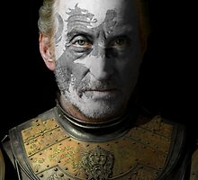 Tywin Lannister House Lion War Paint by HilaryHeffron