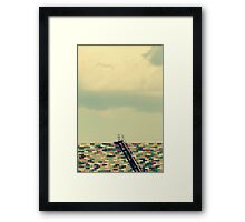 Ladder to Nowhere Framed Print