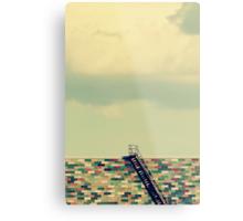 Ladder to Nowhere Metal Print