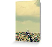 Ladder to Nowhere Greeting Card