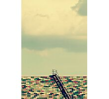 Ladder to Nowhere Photographic Print