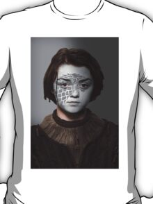 Arya Stark House Direwolf War Paint T-Shirt