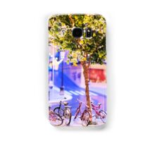 Mini-Streets: Double Bicycles Samsung Galaxy Case/Skin