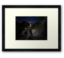 Elven Huntress Framed Print