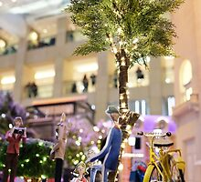 Mini-Streets: Yellow Bicycle by adpixels