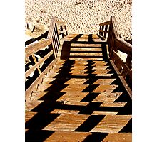 Sand Steps Photographic Print