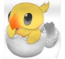 Chocobo Chick Poster