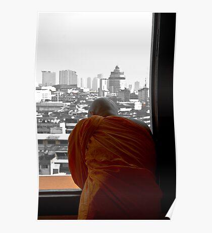 Buddha in Bangkok - Thailand Poster