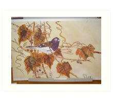 chickadee Art Print