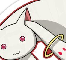 Kyubey from Madoka Magicka Sticker