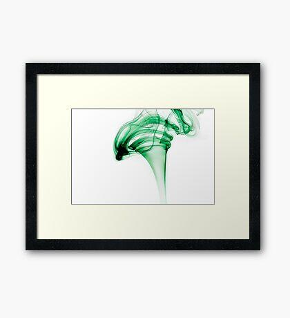 Intense incense Framed Print