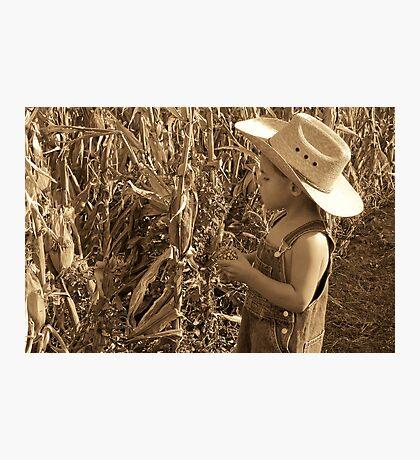 Farmer Jorge Photographic Print