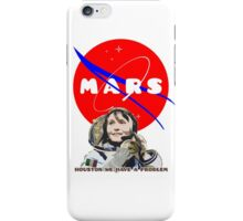 Mars Space Mission (2) iPhone Case/Skin