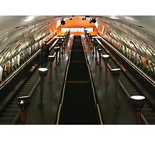 London Tube Photographic Print
