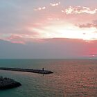 La Goulette Sunset by Tom Gomez