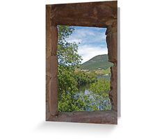Through a Window at Urquhart Greeting Card