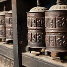 Spinning Prayer Wheels by Phil Gribbon