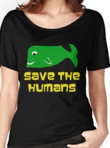 Save the Humans Women's Relaxed Fit T-Shirt
