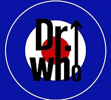 Doctor Who / The Who spoof w/ blue background by kelvarnsen