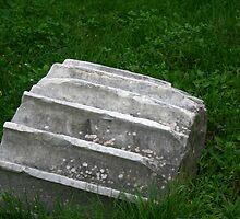 Fallen Roman Column by adamgrell