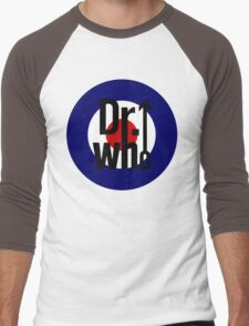 Doctor Who / The Who spoof Men's Baseball ¾ T-Shirt