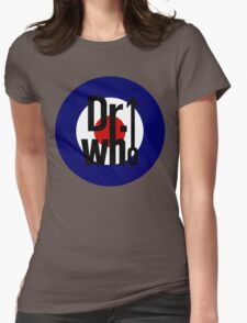 Doctor Who / The Who spoof Womens Fitted T-Shirt