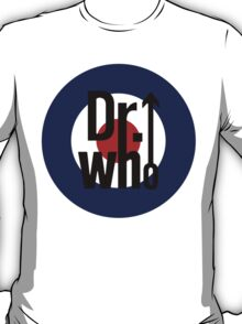 Doctor Who / The Who spoof w/ white background T-Shirt