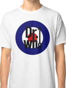 Doctor Who / The Who spoof w/ white background Classic T-Shirt
