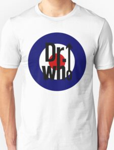 Doctor Who / The Who spoof w/ white background Unisex T-Shirt