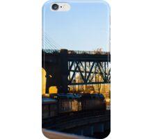 Railway Bridge in the Lower Mainland, BC iPhone Case/Skin