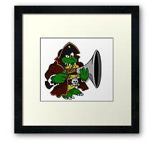 """""""The Kaptain"""" Framed Print"""