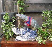 Edinburgh Dinosaur by Yonmei