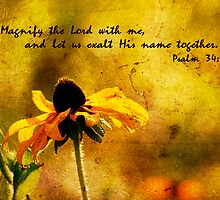 Psalm 34:3 by Jonicool